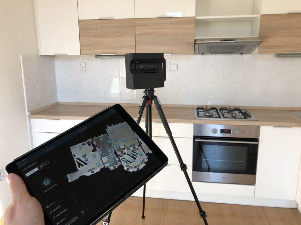 Interaktivní virtuální 3D prohlídka nemovitostí